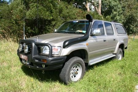 Hilux Diesel Left hand fit Turbo and/or EFI 97-06