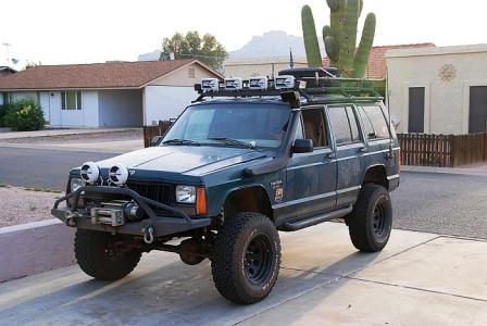 Jeep XJ Cherokee Petrol 4l (non ABS only)