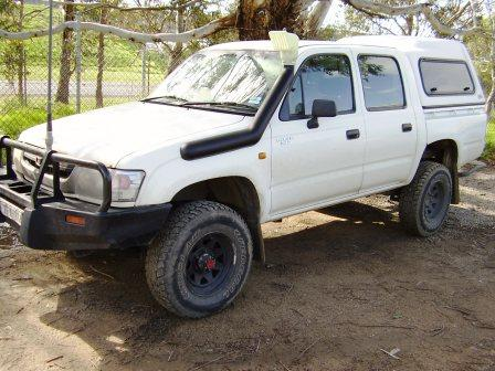 Hilux Petrol Left hand fit