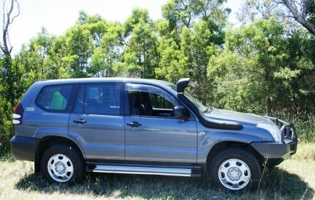 "Prado LC120 Diesel 03 New design 3.5"" Air Ram"